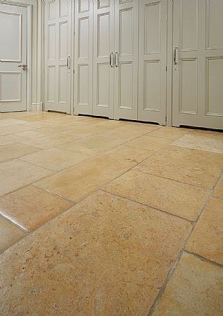 Aged and Pillowed Cotswold Stone Tiles